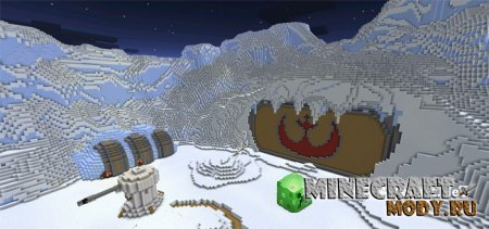Star Wars Battle - Карта Minecraft PE 0.14.0