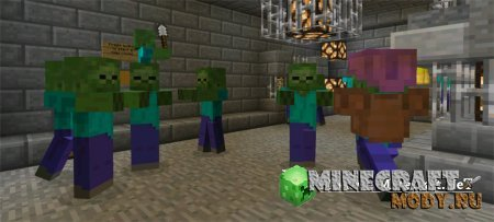 Call of Duty Zombies - Карта Minecraft PE 0.14.0