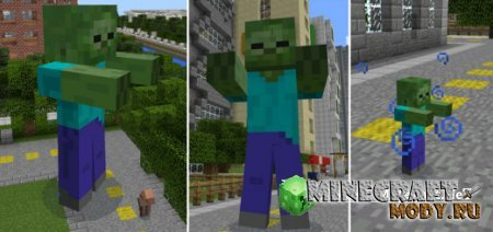 Giant Zombies - Minecraft PE 0.14.0