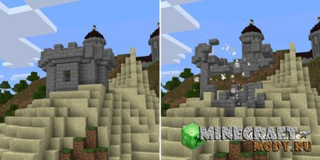 Explosive Arrows - Minecraft PE 0.14.1, 0.14.0