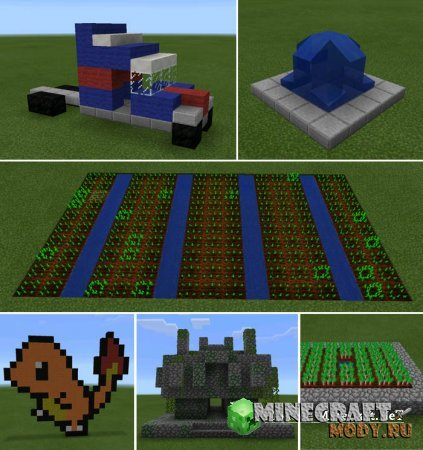 Instant Buildings - Minecraft PE 0.15.4 - 0.15.0