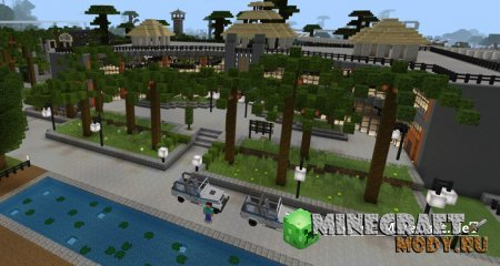 Jurassic Craft World - Карта Minecraft PE 1.2.х, 1.1.х, 1.0.х