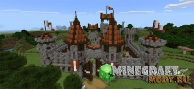 DaphneElaine's Let's Play World - Карта Minecraft PE 1.1.0.9 - 1.1.0