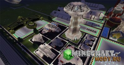 Star Trek Shipyards - Карта Minecraft PE 1.1.3.1 - 1.1