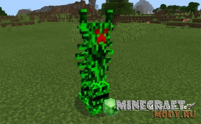 Freaky Creepers - Мод/Аддон Minecraft PE 1.1.3.1 - 1.1