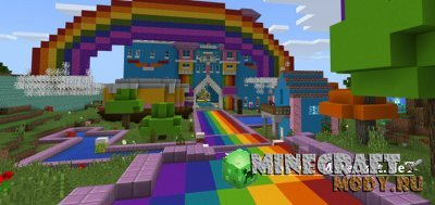 World of Color - Карта Minecraft PE 1.1.3.1 - 1.1