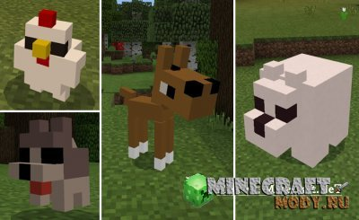 Chibi Craft - Текстура Minecraft PE 1.2