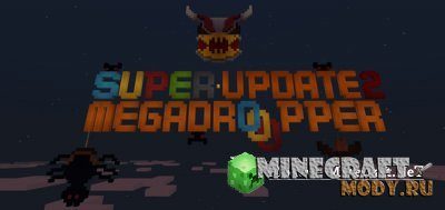 Super Mega Dropper - Карта Minecraft PE 1.2.3.6 - 1.2