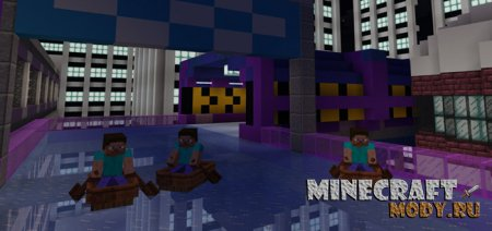 Formula Boat - Карта Minecraft PE 1.2.10.1 - 1.2