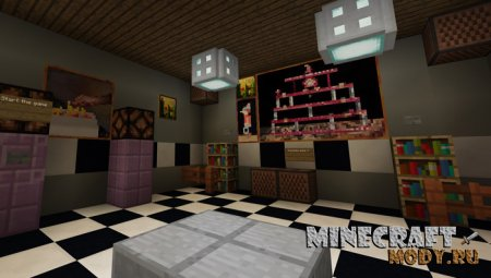 Three Nights At MineStand's - Карта Minecraft PE 1.2.х