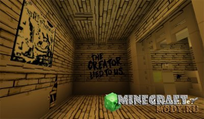 Bendy Game Horror - Карта Minecraft PE 1.2.20.1-1.2