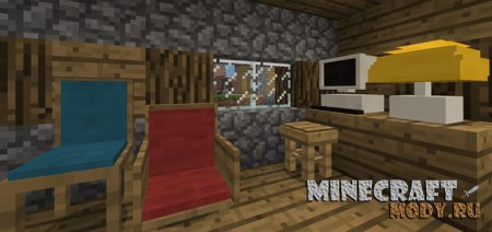 Vanilla Furniture - Мод/Аддон Minecraft PE 1.2.20.1-1.2