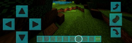 Coloured GUI - Текстура MCPE 1.7.0.9, 1.6, 1.5, 1.4