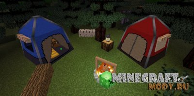 Outdoor Escape Мод/Аддон Minecraft PE 1.9.0.0, 1.8.0.14