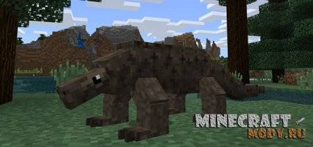 Komodo Dragon Мод/Аддон Minecraft PE 1.8