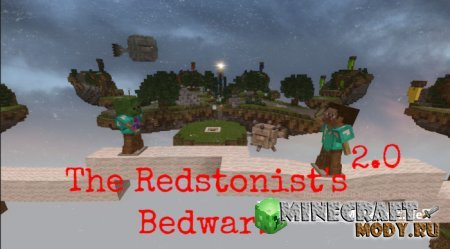 The Redstone Bedwars – Карта PE 1.11.0, 1.10.0