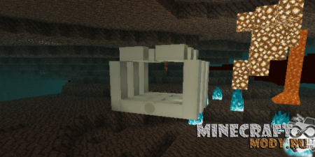 Soulsand Valley Concept Мод/Аддон Minecraft PE 1.12