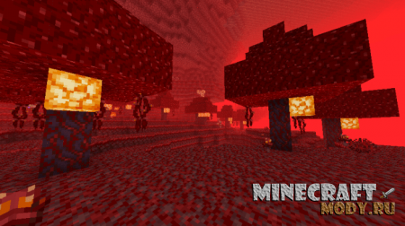 Minecraft Nether Update Concept Мод/Аддон Minecraft PE 1.14, 1.13, 1.12