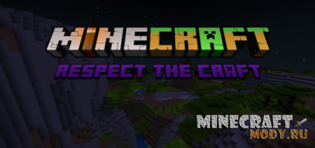 Respect the Craft: A Tweak and Alternative Textures Pack - Текстура MCPE 1.14