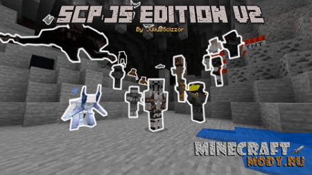 SCP: JS Edition v2 Мод/Аддон Minecraft PE 1.16, 1.15, 1.14, 1.13