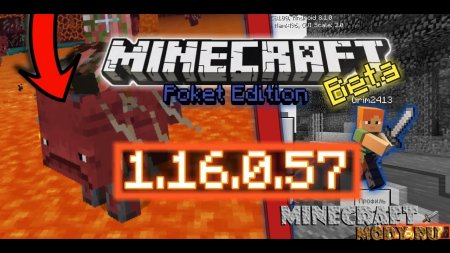 Minecraft PE 1.16.0.57 Nether Update